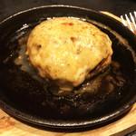 炭火焼dining おかげ家 - つくね鉄板焼き(480円)