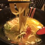 炭火焼dining おかげ家 - 鳥塩ラーメン(680円)