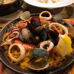 スペイン魚介バル - パエリア1.5倍