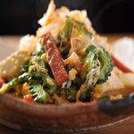 比嘉商店 - 料理写真:ゴーヤーチャンプルー 沖縄料理と言えばこれ。