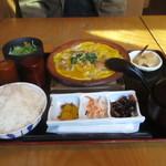米祥 - 鶏の親子煮定食