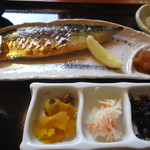 米祥 - 鯖の文化干し定食(アップ)