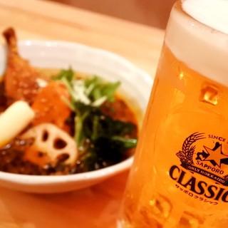 ディナーは2号店で人気の晩酌セットがなんと1200円!