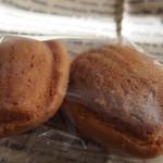 焼菓子工房かわむら - マドレーヌは2個で110円
