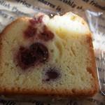 焼菓子工房かわむら - サワーチェリーのパウンドケーキ110円