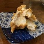 天ぷらスタンド KITSUNE - クリームチーズ味噌漬け