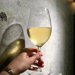 天ぷらスタンド KITSUNE - グラスワイン白