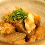 自彩菜酒処 渓 - 根菜と牛スジ煮込み