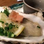 おもいで横丁 - 殻付牡蠣