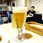 ナヤ インディア ヌール - 生ビール!!(´∀`*)ウフフ