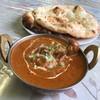 カシミール - 料理写真:マトンカレー&ナン×2