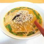 台湾菜館 晴海軒 - 料理写真:台湾坦々ラーメン
