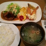 キッチン丸山 - Bセット ¥850