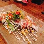 四季乃味彩 - 本日のカルパッチョサラダ