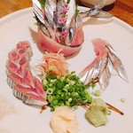 四季乃味彩 - オススメの秋刀魚の刺身