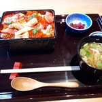 神楽坂 料理 やま本 - 特製バラちらし(* ´ ▽ ` *)