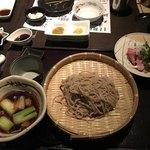SOBA DINING 空楽 - 料理写真:〆の鴨せいろ