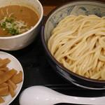 自家製麺つけそば 九六 - つけそば780円に自家製メンマ100円追加。