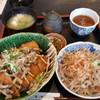 お清水 - 料理写真:季節の醤油カツ丼のセット