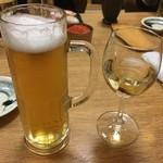 すし耕 - 小樽ビールのピルスナー@756円