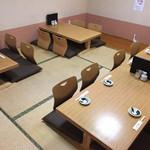 すし耕 - 2階の座敷席
