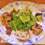 タヴェルナ カッパ - 前菜盛り合わせ(1500円)