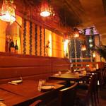 個室×肉×鉄板料理専門店 Enfin - 【3F】パーティーにも人気のテーブル席