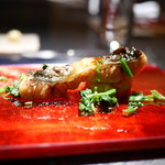 エクアトゥール - 国産鰻のソテーとやげん軟骨のパティ