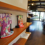嵐山のむら - 店内のあちこちに京都らしい香りが。