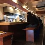 麺屋 八海山 - 内観
