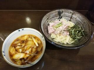 らーめん紬麦 - つむぎつけ麺