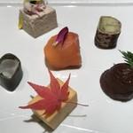 はせ川 - 前菜