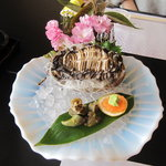 海食空間 かに乃花 - 料理写真:アワビ刺身