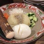 Meibutsutoukyouyakiton - ボテトサラダ380円