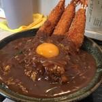 76551534 - エビカレー丼