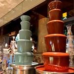 ロビーラウンジ 「マーブルラウンジ」 - 「チョコミントのチョコレートファウンテン」が話題!