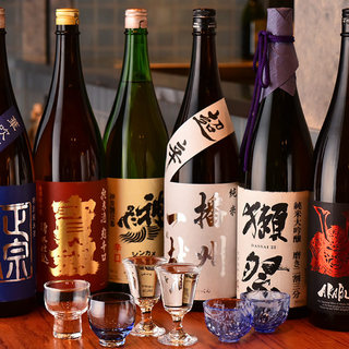 お肉の旨味を引き立てる日本酒を取り揃えました。