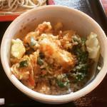 手打ち蕎麦・たいら - 野菜かき揚げ丼