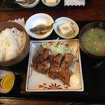赤津加 - 若鶏竜田揚げ定食800円