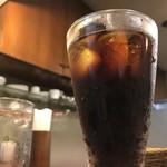カレー屋SATCHMO - アイスコーヒー