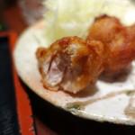 代官山 やまびこ - 地鶏唐揚げハーフ300円