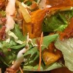道産小麦のパスタ屋さん ミールラウンジ - サラダのアップ