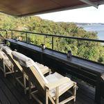 和カフェたらそ - テラス席から海を眺めて…