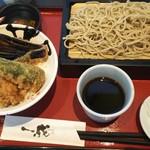 76558805 - 天丼とせいろ蕎麦 1,058円♪