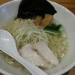 Hakatatorishioraamemmiyabiya - 鶏塩らぁめん 麺増し