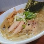自家製麺 ラーメンK - 塩ラーメン(大800円)