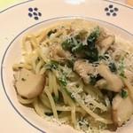 リストランテ コルテジーア - フレッシュボルチーニのスパゲッティ