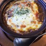 ステッラ カフェ - 料理写真:「チーズ焼きカレー」(900円)