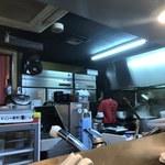 鷹流 - 内観写真:厨房