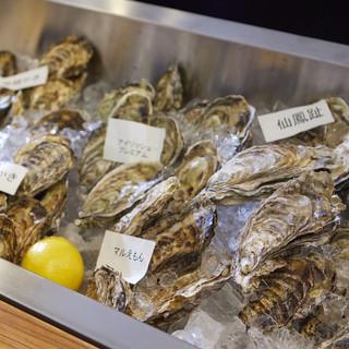 まだまだ牡蠣シーズン♪全国各地の旬な生牡蠣が勢ぞろい!